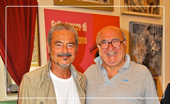 Massimo Dapporto con Gennaro Improta