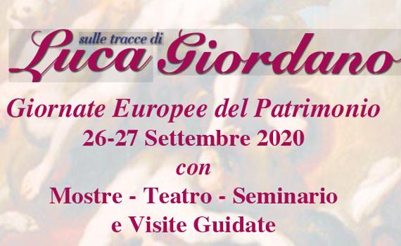 Sulle Tracce di Luca Giordano 26 e 27 settembre '20